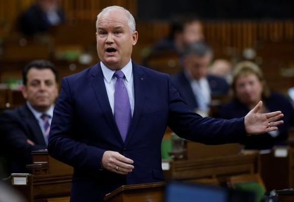 加拿大保守党领袖艾林·奥图尔资料图片