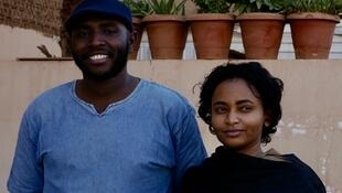 Ahmed et Iman à Khartoum.