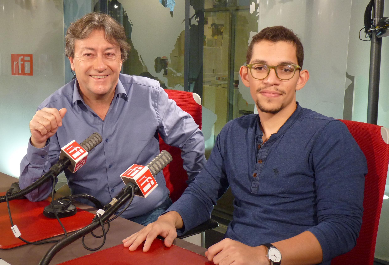 El venezolano Daniel Blanco y Jordi Batallé en RFI