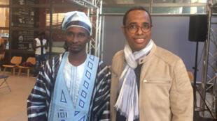 Petit Tonton et Souleymane Bah au Festival Zébrures d'automne à Limoges, en septembre 2020.