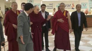 西藏流亡精神领袖达赖喇嘛资料图片