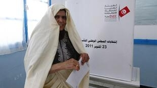 Pleito na Tunísia contou com grande mobilização da população.