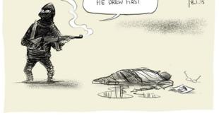 David Pope, press cartoonist