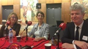 Cécile Le Vaguerese-Marie, Anne Delizée et Paul de Sinety étaient les invités de l'émission en direct du Musée national de l'histoire de l'immigration à Paris.