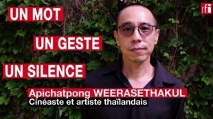 L'artiste et cinéaste thaïlandais Apichatpong Weerasethakul, en lice au Festival de Cannes pour la Palme d'or 2021 avec « Memoria », avec Tilda Swinton et Jeanne Balibar. © Siegfried Forster / RFI