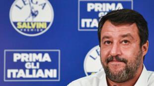 2020-10-01 italy politics Matteo Salvini far-right lega league