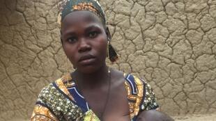 Jeune fille mariée précocement dans la région de Tessaoua au Niger.