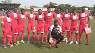 Le 11 du club guinéen de Horoya FC.