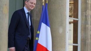 Bruno Le Maire, ministre français de l'Agriculture.
