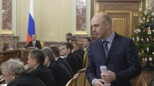 Министр финансов России Антон Силуанов на встрече правительства в Москве 24 декабря