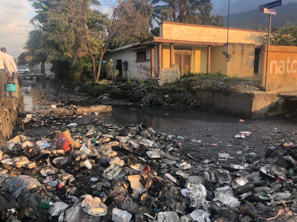 Illustration of waste pollution, here in Port au Prince, Haïti