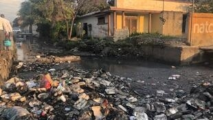 Illustration of waste pollution, here in Port au Prince, Haïti