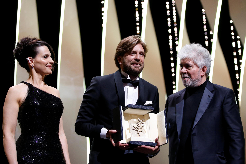 瑞典導演獲得金棕櫚大獎