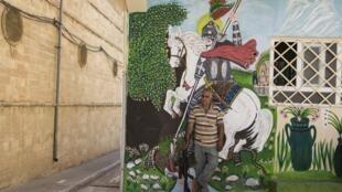 Hawre Khalid, Saint Georges. Al Qosh, Irak, 2016. Photographie.