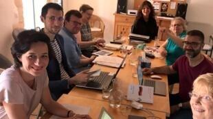 La première semaine de juin 2019, Maylis de Kerangal rencontrait sept de ses traducteurs pour un séminaire à Arles.