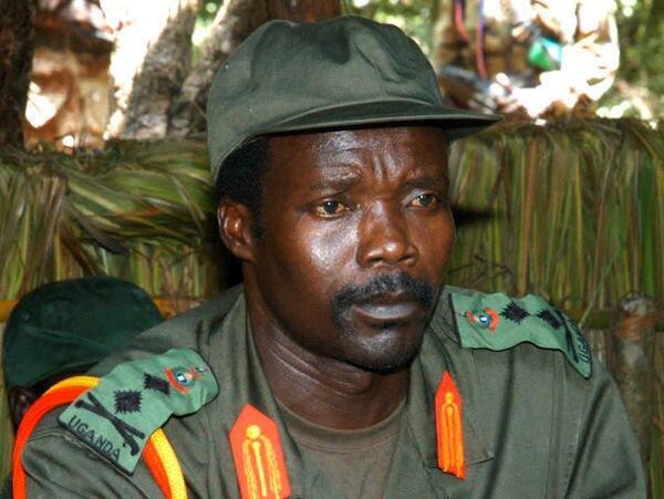 Kiongozi wa Kundi la Waasi la LRA Joseph Kony anayesakwa na Majeshi ya Uganda