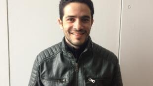 O ator Vinícius Campos de Oliveira.