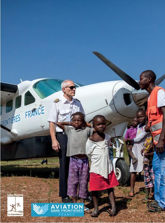L'exposition «Les ailes de l'humanitaire» à Paris jusqu'au 1er décembre.