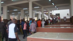 Le nouveau marché Total de Bacango au Congo-Brazzaville.