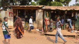 Photo d'illustration. Le quartier PK5 à Bangui, un quartier à majorité musulmane.