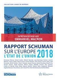 Couverture du «Rapport Schuman sur l'état de l'Union 2018»