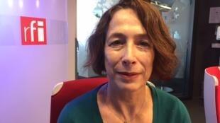 A antropóloga Véronique Boyer, autora de um livro sobre a evangelização na Amazônia.