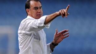Rogério Gonçalves, treinador português do Ferroviário da Beira. Imagem de Arquivo.