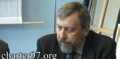 Андрей Санников в минском суде