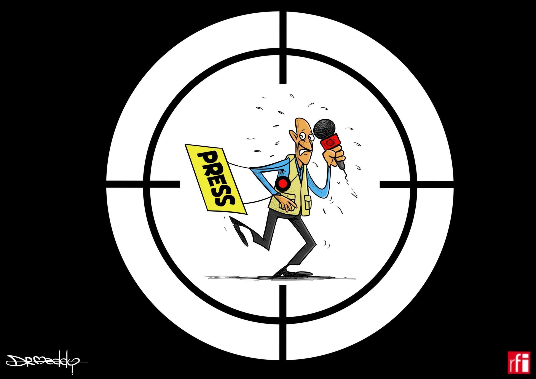 Illustration for World Press Freedom Day