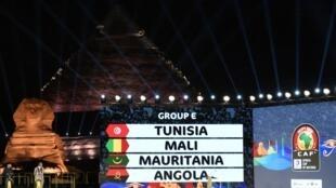 Angola está no Grupo E.