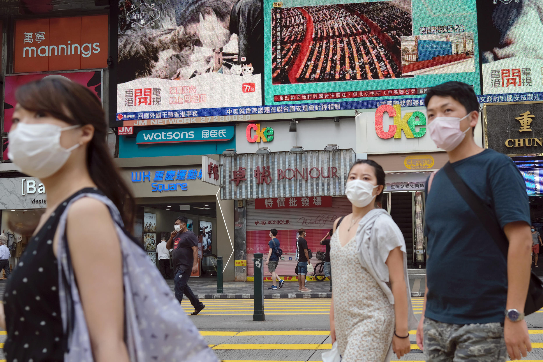 香港 2020年5月28日 街景