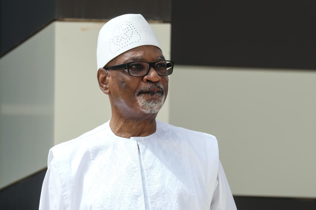 Tsohon Shugaban kasar Mali Ibrahim Boubacar Keita