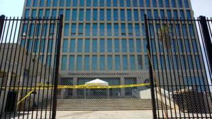 Una vista de la embajada de Estados Unidos en La Habana, Cuba, el 18 de septiembre de 2017.