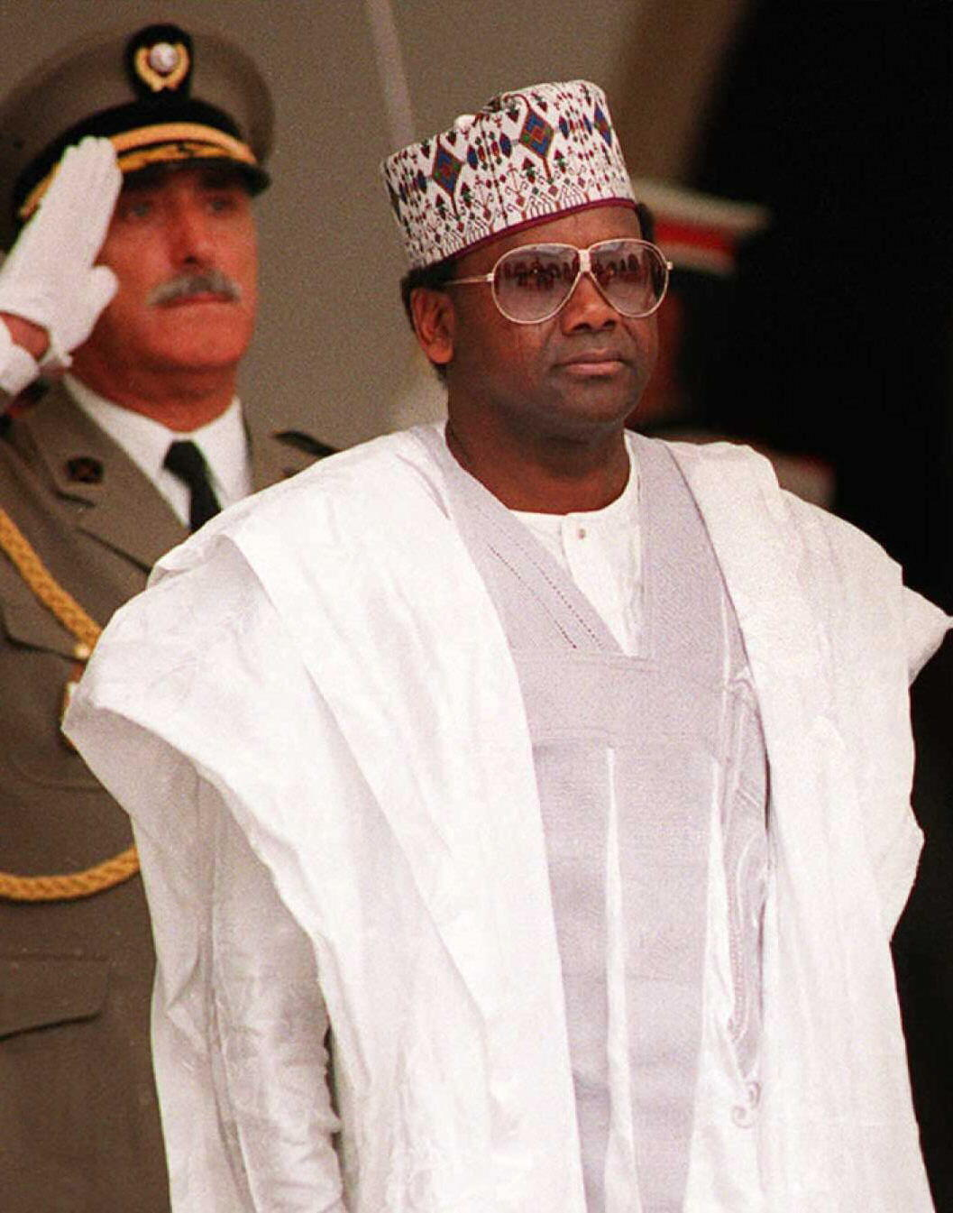 Sani Abacha's death in 1998 paved the way for a return to civilian government in Nigeria. File photo dated June 1993.