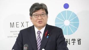 日本文部科學大臣萩生田光一資料圖片