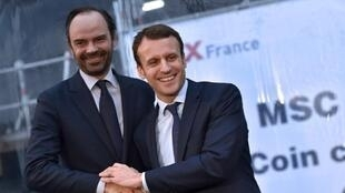 Philippe y Macron
