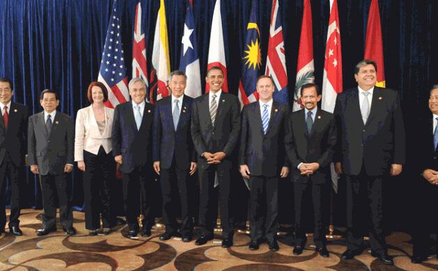 Nguyên thủ một số thành viên TPP tại Thượng đỉnh 2010 ở New Zealand
