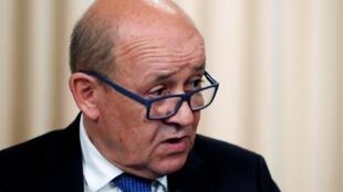 Pour Jean-Yves Le Drian, il n'est pas envisageable à court terme de demander un processus judiciaire irakien pour les jihadistes français.