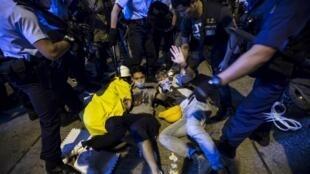 存档图片:中国_香港_政治