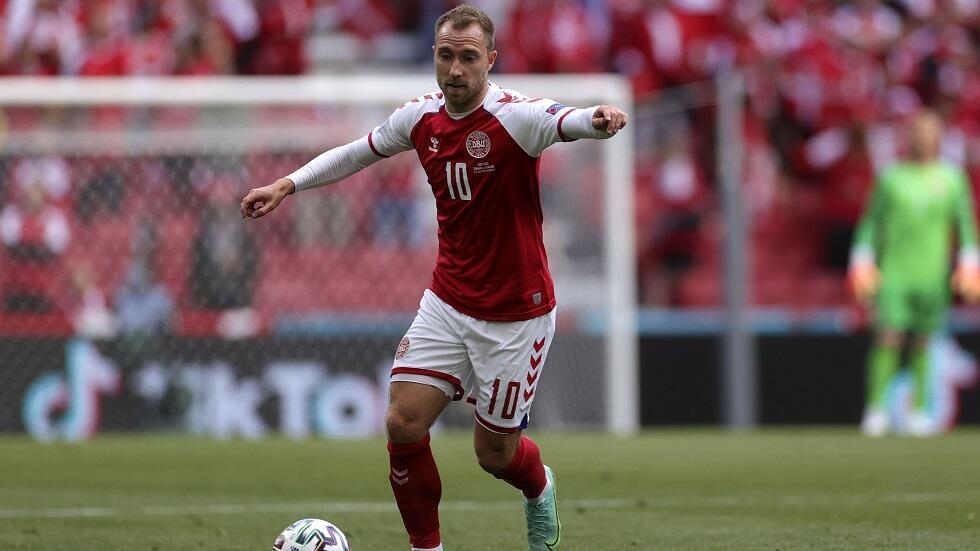 Le Danois Christian Eriksen, le 12 juin 2021.