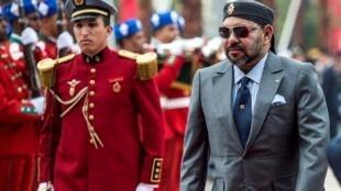 Le roi du Maroc Mohamed VI à Rabat, le 17 novembre 2018.