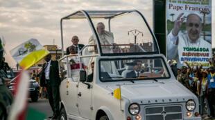 Le Pape s'était déplacé en Karenjy lors de sa visite à Madagascar, le 6 septembre 2019.