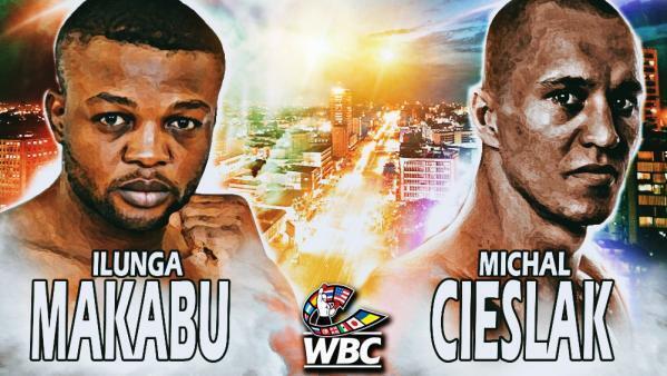 L'affiche du combat entre Junior Ilunga MaKabu et Michal Cieslak.