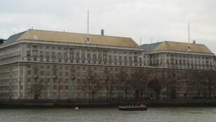 Le siège du contre-espionnage britannique à Londres.
