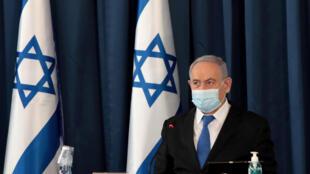 netanyahu israel juillet 2020