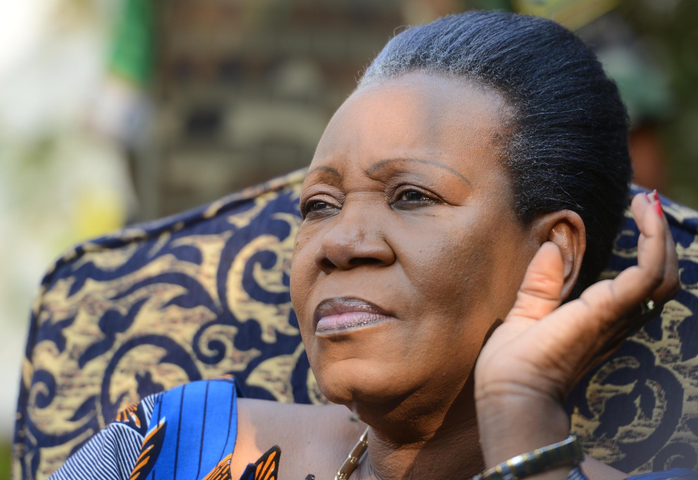 中非共和國臨時總統卡特琳娜 桑巴∙ 潘沙Catherine Samba-Panza 2014年1月21日