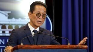 圖為菲律賓總統杜特爾特首席法律顧問Salvador Panelo
