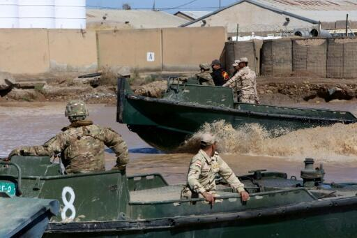 Forças da coligação internacional liderada pelos Estados Unidos no Iraque