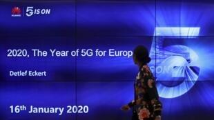 Conferencia  «2020, año de la 5G para Europa, en  Bruselas, 16 enero 2020.