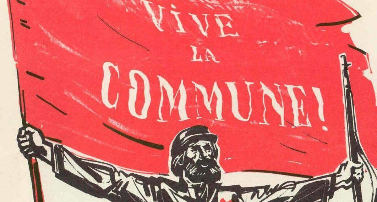 """Vive la Commune"" post Paris Commune poster"